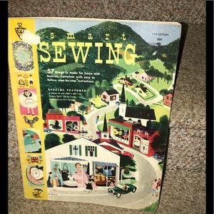 Vintage sewing magazine